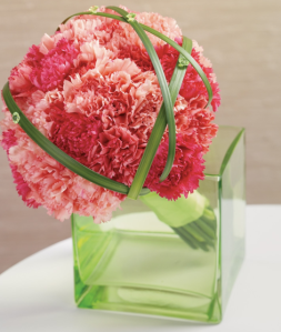 Bright Carnation Arrangement